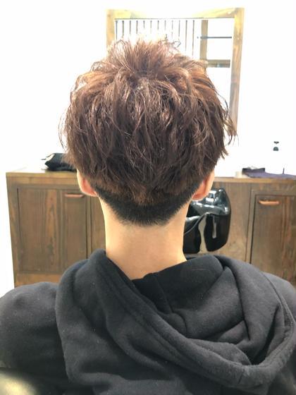 男性限定!! カット+顔剃り+ヘッドスパ