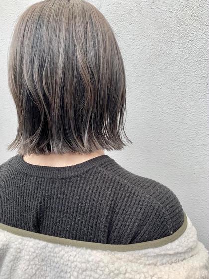 【週末限定】透明感カラー+似あわせカット+2ステップトリートメント