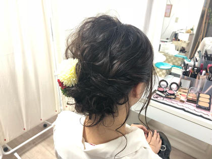 いろんな服装に合いそうなスタイルです🎶 #ヘアアレンジ #ヘアセット #まとめ髪 #ゆるふわ saibu所属・辻井隆太のスタイル
