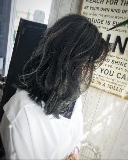 【✨理想の色に潤いを✨】シースルーハイライト+イルミナカラー+クイックトリ
