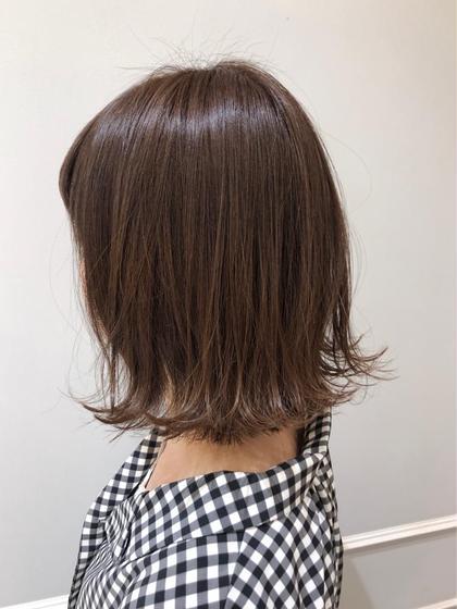 【髪質改善】酸熱トリートメント+カラー💫💫
