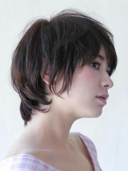 くせ毛の活かしたショート Ofa beauty salon所属・遠山佳秀のスタイル