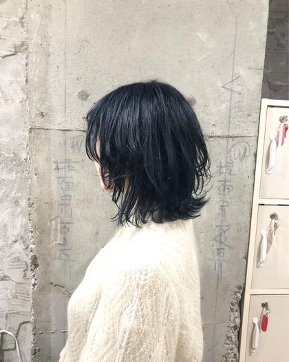[土日祝日]☆カット+リタッチカラー+前処理トリートメント☆