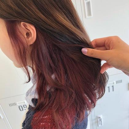 🌺ピンクバイオレット🌺  インナーカラー暖色が人気です❤️ « Aguhair » beacon所属・KURIHARAKAIのスタイル