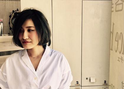 大人女子グレー系カラー♪ dolce  hair所属・諏訪園寛子のスタイル