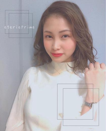 egerieprime所属の千葉未来のヘアカタログ