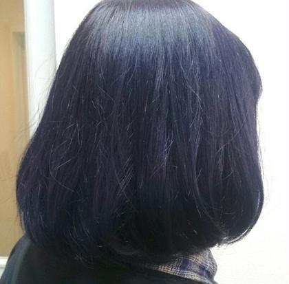ブルーバイオレット! アディクシーカラー Hair Salon Valor 所属・渡辺康行のスタイル