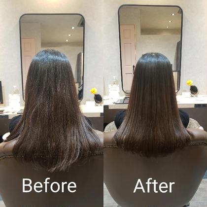 🍀髪質改善ストレート🍀午後8時から✨✨ストレートアイロンを使用しないユニークな縮毛矯正