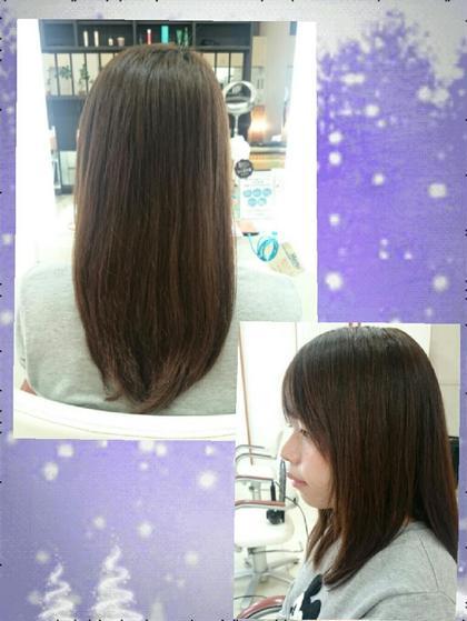 さらさらロングスタイル HairVERDE所属・キンジョウエナミのスタイル