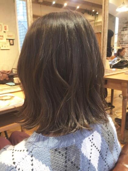 ウェービー外ハネボブ♪ ***natsumiのショートのヘアスタイル