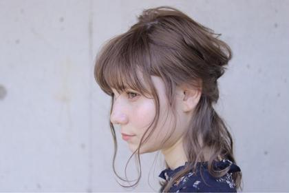 ヌーディーカラーでオンカラー… HAIR&MAKE  EARTHひたち野うしく店所属・ミヤタレオのスタイル