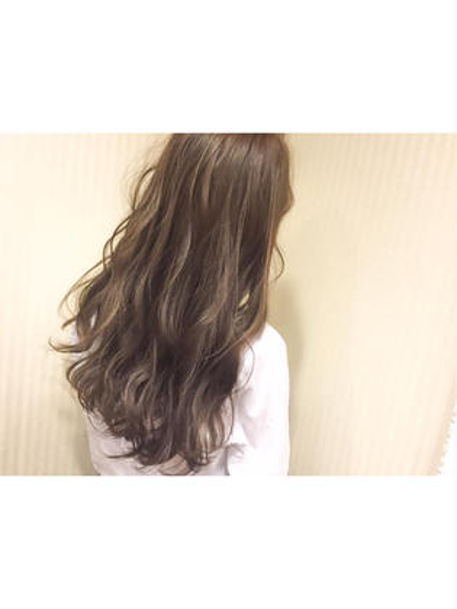 カラー ショート セミロング ミディアム ロング honey beige × high light♡