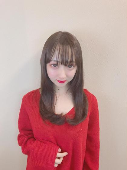 ❤️新メニュー❤️冬プチイメチェン✨前髪カット+ダメージ95%カットケアカラー+スペシャルトリートメント贅沢コース✨