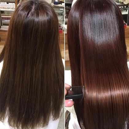 〈最強美髪💛〉サイエンスアクア美髪チャージ + ヘアカラー