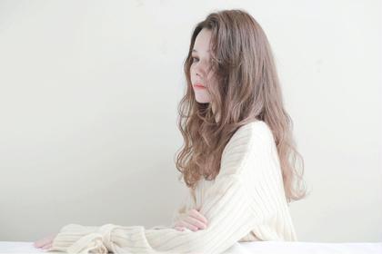 ✔️前髪カット+ルミエールカラー