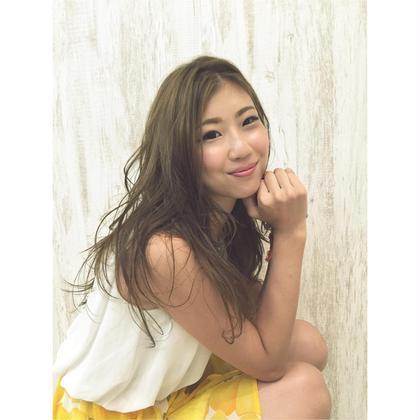 #Salut#SUMMER#SUMMERgirl#ゆる巻き Salut iza makes smile所属・chizakiharunaのスタイル