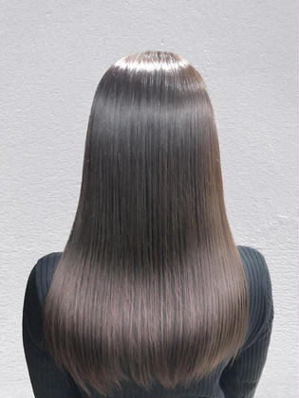 🧚♀️💫キセキの一滴×長持ち💫🧚♀️【OLAPLEX】縮毛矯正+カラー&カット¥13470→¥12970