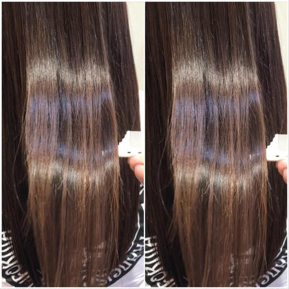🌟話題の艶髪🌟【サイエンスアクア】美髪チャージ+カット