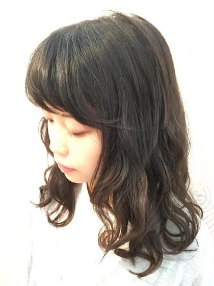 vira   hair所属・大石ゆかのスタイル