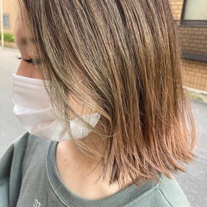 【潤い🌈OggiOttoプラン】カラー+OggiOttoマスクトリートメント🌈