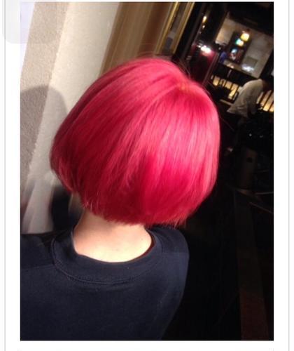 カラー マニキュアビビットピンク