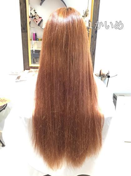 髪質改善1回目の方 C_infinite所属・スタイリストシーインフィニートのスタイル