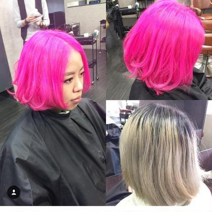 マニックパニック使用 ()inni hair design works所属・藤木真帆のスタイル