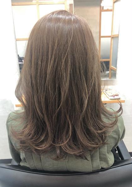 【7月新規限定】カット+カラー+oggi ottoセラム&Tr15分