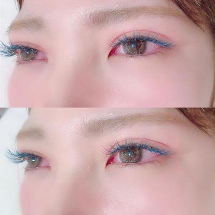 カラーエクステ→140本までオフ込み♡ 2色mix