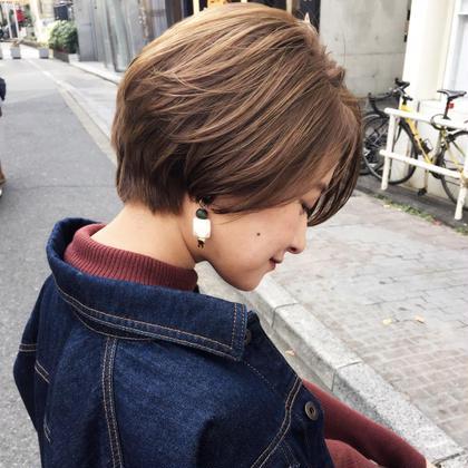KojiEtoのショートのヘアスタイル