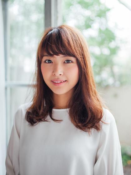 艶カラー+スタンダードトリートメント+炭酸泉¥6980【獨協大学前店】