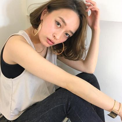 外国人風レイヤーボブ‼️ ykfj hair所属・イズミタカヒロのスタイル