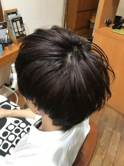 hairmakeorganic所属・中嶋聖のスタイル