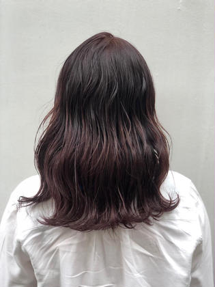🍇🍇🍇カシスカラー🍇🍇🍇 MASHU(マッシュ)Wiz hair 東原店所属・ダンウラリナのスタイル