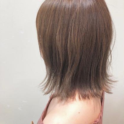 【マットブルージュ】 HairModeKT池田点所属・中村壮汰のスタイル