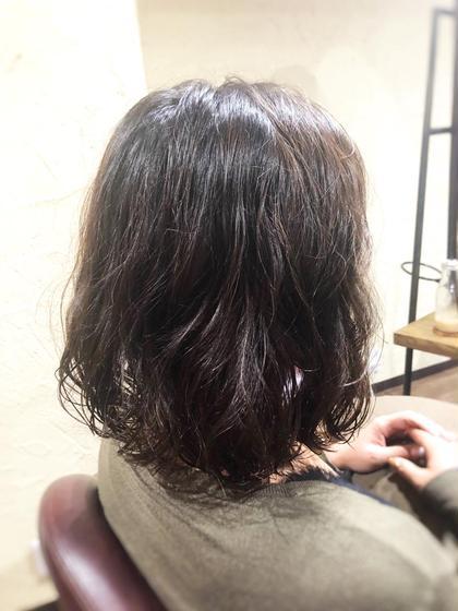 くしゃかわパーマ💓 aRoom葛西所属・清野のスタイル