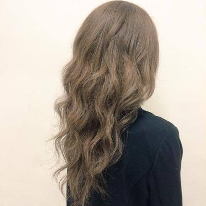 アッシュベージュカラー Hair Salon Lapis所属・手塚有観のスタイル