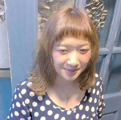 メンテナンス❗️前髪カット & ヘアカラー(リタッチ)&2step トリートメント