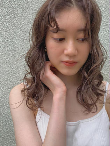 🦋【人気メニュー】カット+艶・高発色カラー+トリートメント