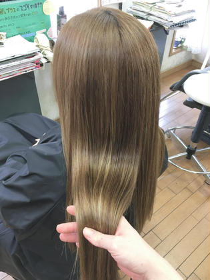 髪質改善水素トリートメント