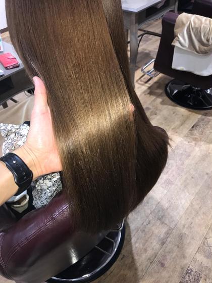 髪質改善カラー & トリートメント(カットなし)