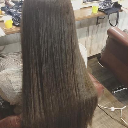 縮毛矯正 & トリートメント & 炭酸泉シャンプー