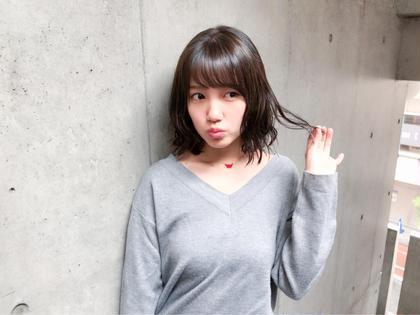 セミロング AKB48 加藤玲奈様 イルミナカラーTOKIOトリートメント