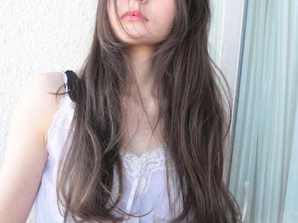 ハーフブリーチ+ホワイトブラウン