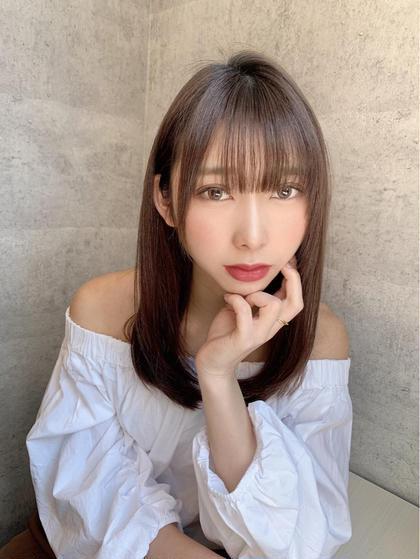 🉐OPEN記念🉐【前髪カット無料】&5StepTOKIOトリートメント+高浸透ナノミスト