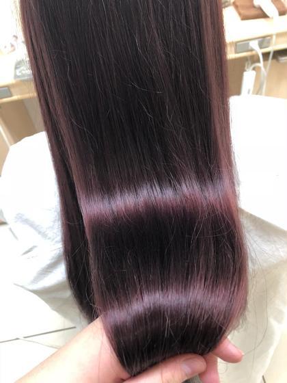 【新規✂︎】不動の1番人気👑✨SNSで話題❤️‼︎✨誰でも圧倒的艶髪💕🎨✨イルミナカラー+トリートメント