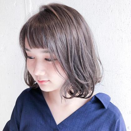 【❣️満足度No. 1❣️】こだわりカット&✨極艶イルミナカラー(リタッチ)✨&トリートメント☆