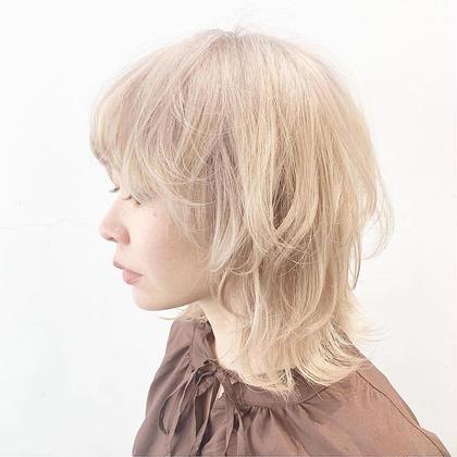 【#minimo1日///2名様限定】ケアブリーチ+ カラー+トリートメント   ¥13000  新規限定