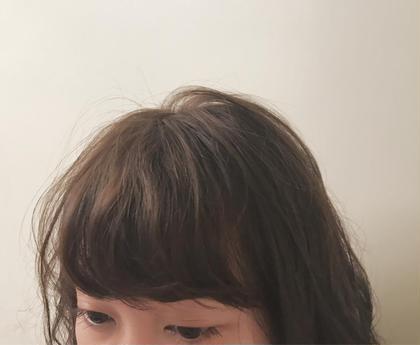お手入れ楽々前髪のカットパーマ