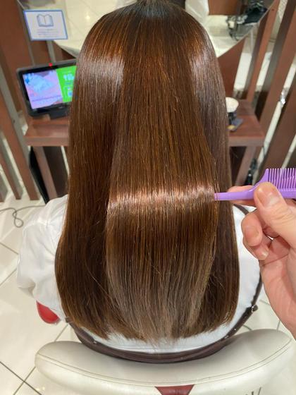 ✨ストパーの新革命✨【髪質改善】酸性プレミアムストレート【お写真の仕上げはハンドブローのみ】
